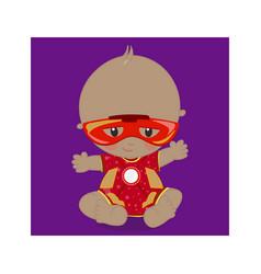 Superhero bamulatto ironman 08 vector