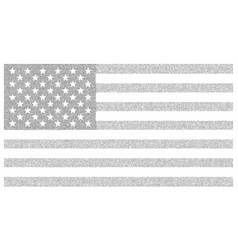 Usa dotted flag file for easy vector