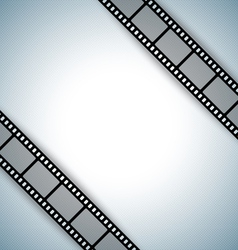 film strip document template vector image vector image