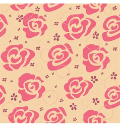 Vintage Roses Pattern vector image vector image