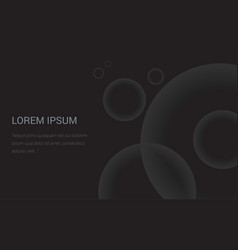 abstract dark background splash header vector image