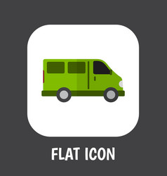automobile symbol on lorry vector image