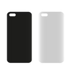 Blank phone case vector
