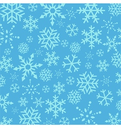 Blue Christmas Snowflakes abstract background vector