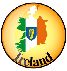 Button Ireland vector