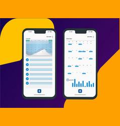 Calendar-app vector