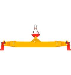 Container crane vector