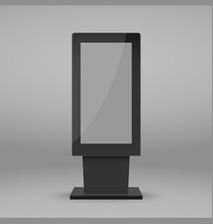 digital multimedia stand vector image