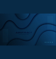 dynamic textured background design in 3d style vector image