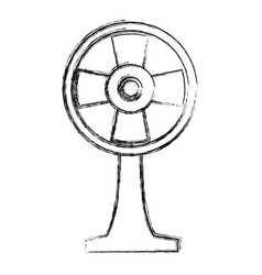 fan icon image vector image