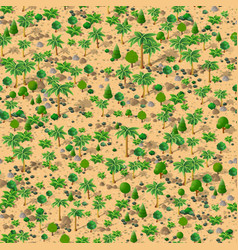forest trees pattern vector image