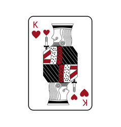 French playing cards related icon image vector