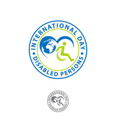 International day persons with disabilities vector