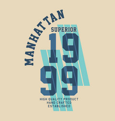 Manhattan superior quality vector