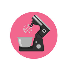 mixer kitchen cafe mixing food stand model vector image