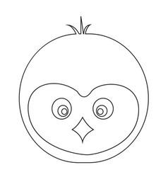 Pinguin icon design vector