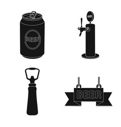 pub and bar sign set of vector image