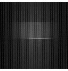 seamless metal texture with highlighted frame vector image