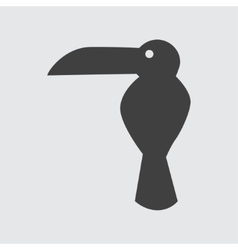 Toucan icon vector image