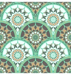 Seamless Pattern With Ethnic Tribal Ornament vector image