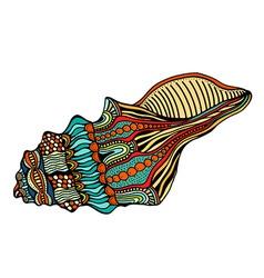 Sea Shell Icon vector image