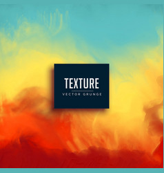 watercolor ink flow texture background vector image vector image