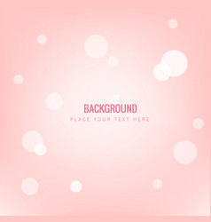 abstract pink blur light pink background im vector image