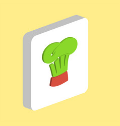 chef cap computer symbol for your business project vector image