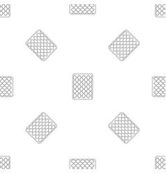 cotton mattress pattern seamless vector image