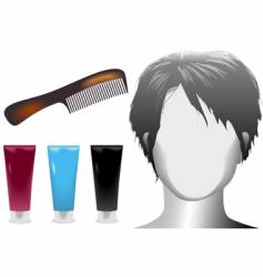 Hair salonmannequin vector
