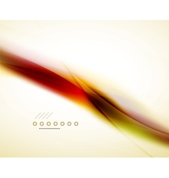 Red flowing colors in wave vector image