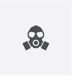 respirator outline icon vector image