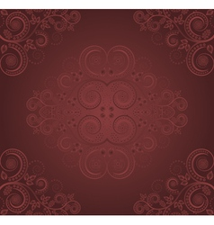burgundy background vector image vector image