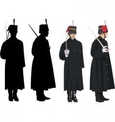 royal guard vector image