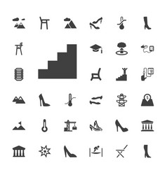 33 high icons vector
