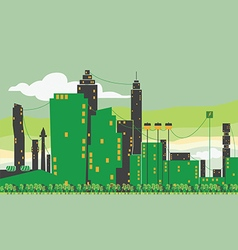 city eco care vector image