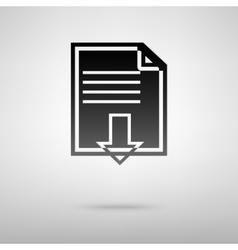 Download black icon vector image
