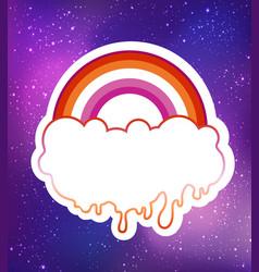 equal love inspirational lesbian pride poster vector image