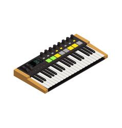 keyboard isometric icon vector image