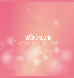 Pink blur bubble pink background image vector