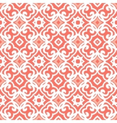 art deco pattern with lacing shapes vector image