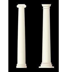 Set of 2 columns vector