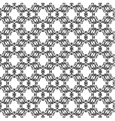 elegant rounded line decorative pattern vector image
