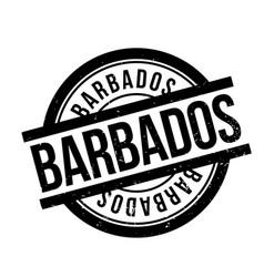 Barbados rubber stamp vector