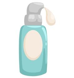 bottle lotion vector image
