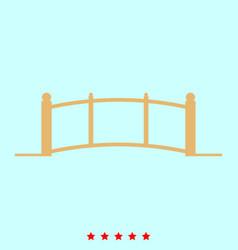 bridge set it is color icon vector image