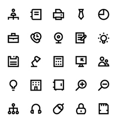 Business and Office Icons 2 vector image