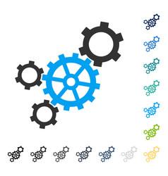 Mechanism icon vector