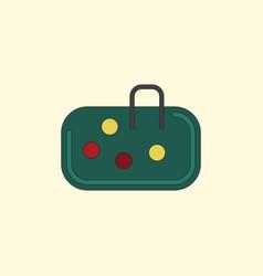 Pebble bag vector