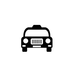 taxi graphic design template isolated vector image